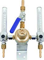 Аргоновые сетевые регуляторы давления с двумя ротаметрами для газовых установок серии 5000 YILDIZ GAZ