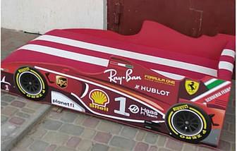 Кровать-машинка Формула 1 (80х180 см), фото 2
