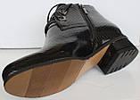 Черевики жіночі демісезонні великого розміру на широку ногу від виробника модель БР1013, фото 4