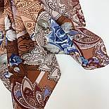 10438-16, павлопосадский платок из вискозы с подрубкой 80х80, фото 5