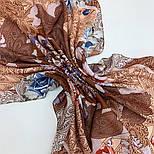 10438-16, павлопосадский платок из вискозы с подрубкой 80х80, фото 8