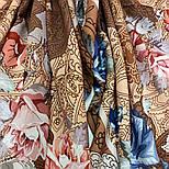 10438-16, павлопосадский платок из вискозы с подрубкой 80х80, фото 7