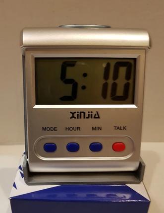 Часы говорящие XJ 792-TN, фото 2