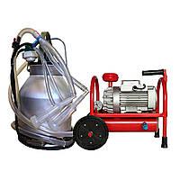 Доильный аппарат для коз с баком 20 литров