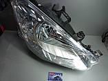 Фара главного света передняя,правая (H4,электрическая, цвет вкладыша: хромированный) CITROEN BERLINGO 04.08р.-, фото 7