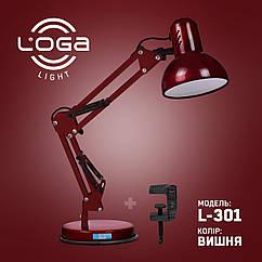 Лампа настольная Пантограф Loga Light L-301 Вишня