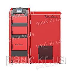Пелетний котел 28 кВт, RED LINЕ твердопаливний