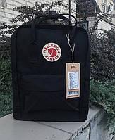 Стильный мужской рюкзак Kanken, трансформер черный