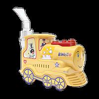 Компрессорный небулайзер Ингалятор детский B.Well PRO-115 Train Basic