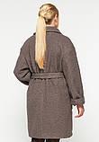 Пальто короткое Ксюша капучино, фото 3