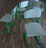 Каркас стула металлический Т-образный, фото 2