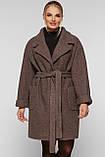 Пальто короткое Ксюша капучино, фото 4