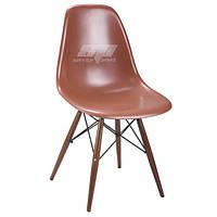 Стул, пластиковый стул, стулья для кафе, обеденный стул, стулья домой Тауэр Вуд (Nik Eames), цвет шоколадный
