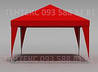 """Палатка выставочная """"Пирамида"""" 4х4 - красная, фото 1"""