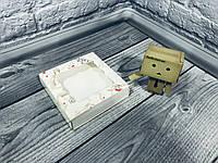 *50 шт* / Коробка для пряников / 120х120х30 мм / печать-Ангел / окно-обычн / лк