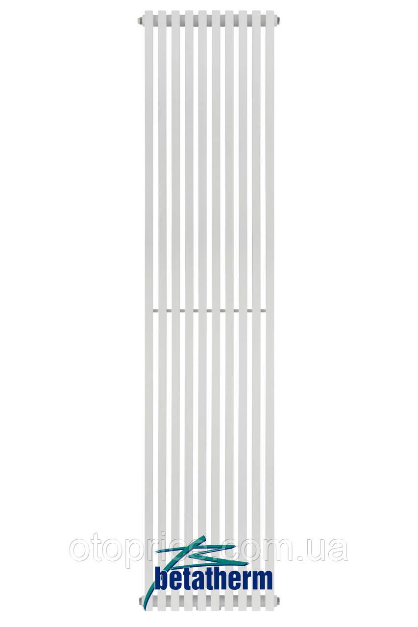 Дизайнерский вертикальный радиатор Quantum 2 1800/285 Betatherm 10-12 м.кв.