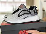 Мужские кроссовки Nike Air Max 720 (светло-серые) 8943, фото 3
