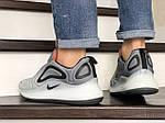 Мужские кроссовки Nike Air Max 720 (светло-серые) 8943, фото 2