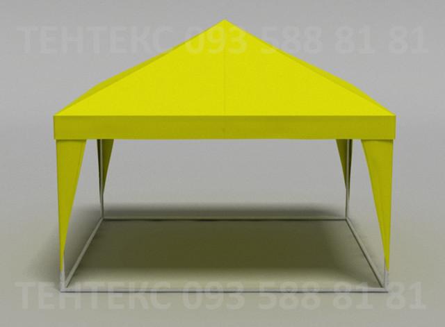 палатка желтая