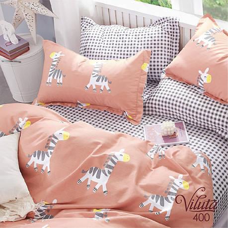 Подростковое постельное белье Viluta 400 сатин 143*205, фото 2