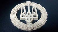 Декоративный герб Украины настенный из твёрдого полиуретана, фото 1