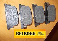 Колодки тормозные задние Lifan 620 (Solano), Лифан 620, Ліфан 620