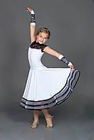 Платье рейтинговое для девочки «Соло» с митенками