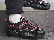 Жіночі кросівки Jimmy Choo Diamond Black Red, фото 3