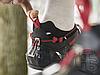 Жіночі кросівки Jimmy Choo Diamond Black Red, фото 4