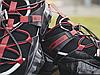 Жіночі кросівки Jimmy Choo Diamond Black Red, фото 6