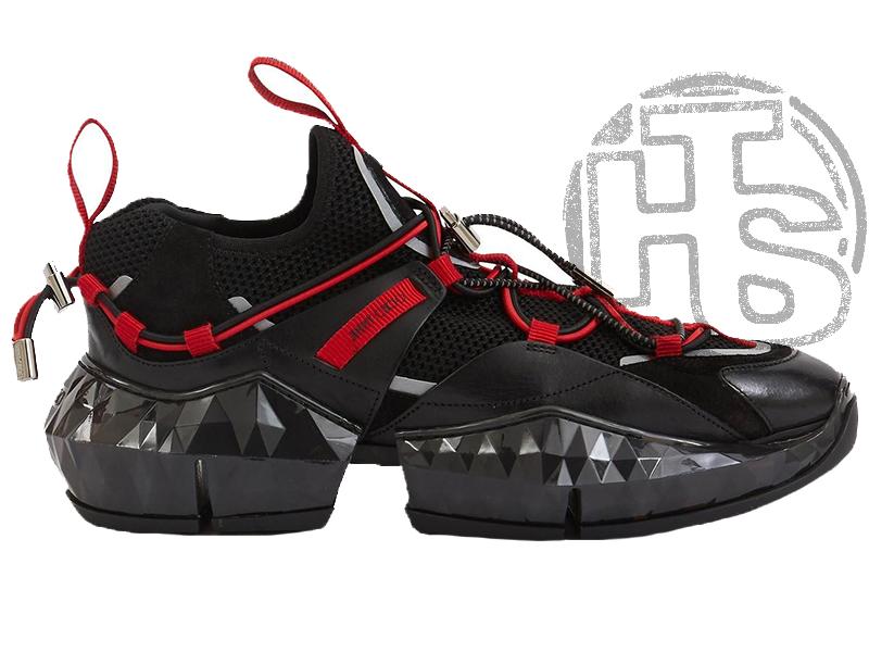 Жіночі кросівки Jimmy Choo Diamond Black Red