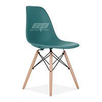 Стул, пластиковый стул, стулья для кафе, обеденный стул, стулья домой Тауэр Вуд (Nik Eames), цвет синий