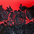 Платье с кружевом на талии КРИСТИ красный, фото 5