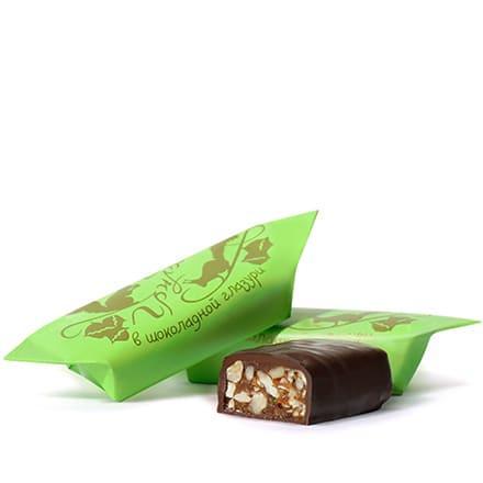 Грильяж в шоколадной глазури, Рот Фронт 1 кг