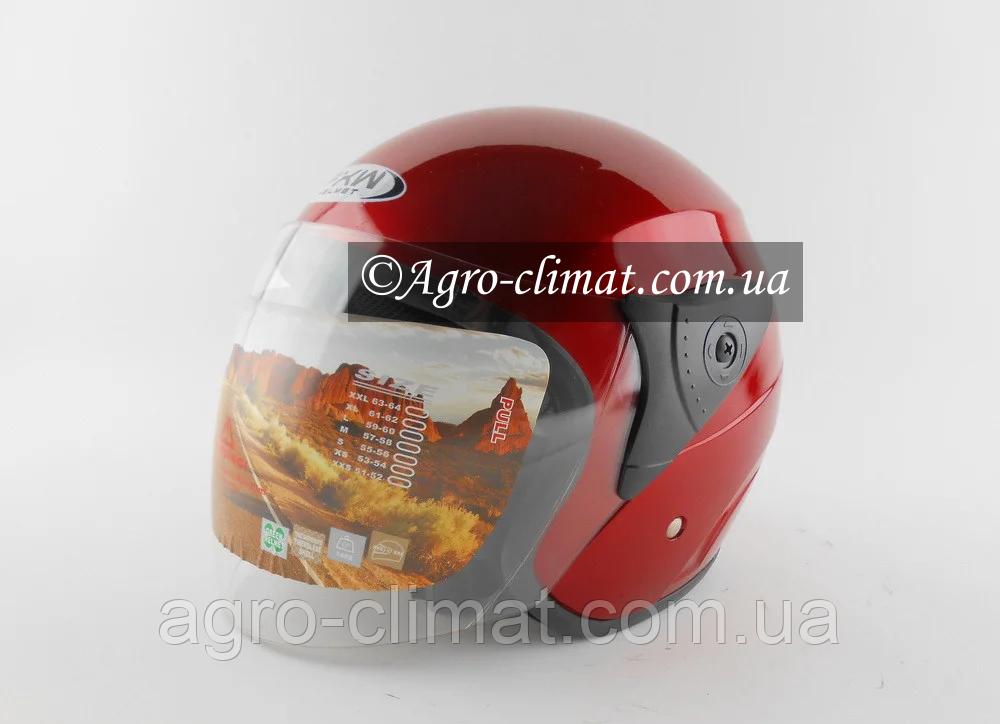 Шолом для мотоцикла Hel-Met FXW 200 (червоний колір)