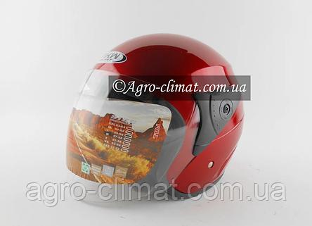 Шолом для мотоцикла Hel-Met FXW 200 (червоний колір), фото 2
