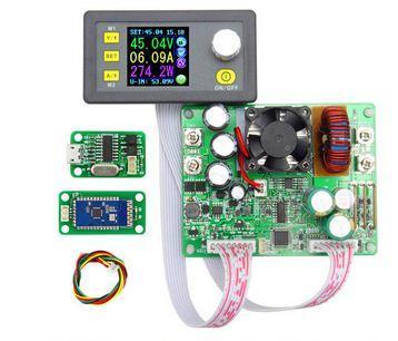 Набор для сборки ЛБП DPS5015 USB+Bluetooth (понижающий DC-DC программируемый источник питания 0-50V 0-15A)