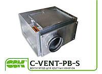 Вентилятор канальный для круглых каналов с назад загнутыми лопатками в шумоизолированном корпусе C-VENT-PB-S