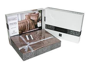 Комплект постельного белья Ecosse VIP сатин жаккард 200х220 Damask Beyaz, фото 2