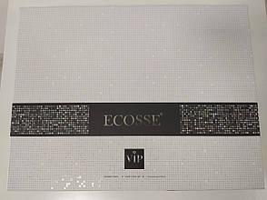 Комплект постельного белья Ecosse VIP сатин жаккард 200х220 Damask Beyaz, фото 3