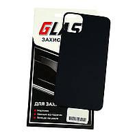 Защитное стекло для APPLE iPhone 11 Pro Max на заднюю сторону Full Glue (0.3 мм, 2.5D, чёрное) Люкс (ID:23553)