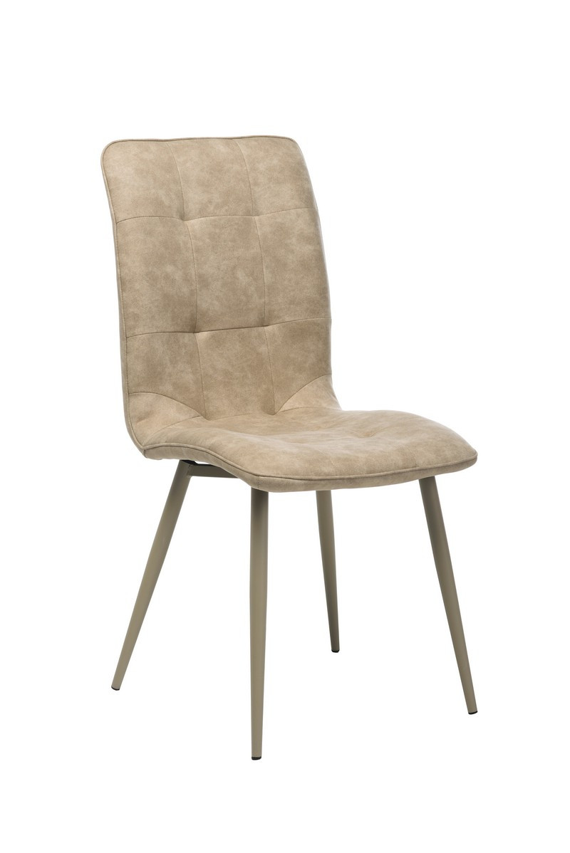 Обеденный стул N-78 латте нубук от Vetro Mebel