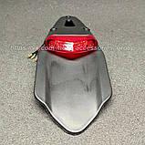 Хвіст для мотоцикла з вбудованим стоп сигналом (крос, ендуро, питбайк), фото 2