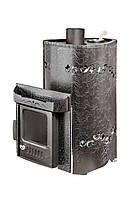 """Дровяная паровая печь """"Мини ПФ"""" Стандарт Антик (с кассетами в комплекте) до 18 м3"""