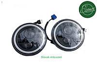 Cветодиодная фара 75 ватт для ВАЗ 2101, 2121 JP 40W круглая LED Headlight