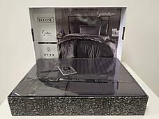 Комплект постельного белья Ecosse VIP сатин Stripe 200х220 синий, фото 3