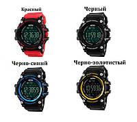 Тактические военные умные смарт часы Skmei 1227 WR50M с Bluetooth, шагомером