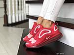 Жіночі кросівки Nike Air Max 720 (червоно-білий) 8949, фото 2