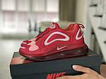 Женские кроссовки Nike Air Max 720 (красно-белый) 8949, фото 3