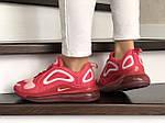 Женские кроссовки Nike Air Max 720 (красно-белый) 8949, фото 4
